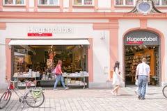 Hugendubel Landshut Fotografía de archivo libre de regalías