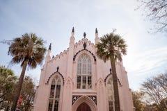 Hugenota kościół, Charleston, Południowa Karolina obrazy royalty free