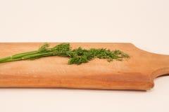 hugga av fennel för bräde Royaltyfria Foton