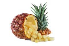 Huggen av ananas Arkivbilder