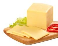 huggen av ost arkivbild