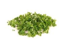 huggen av parsley Arkivbilder