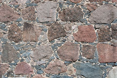 Huggen ut stenbakgrund Royaltyfri Fotografi
