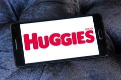 Huggies diapers manufacturer logo Stock Photo