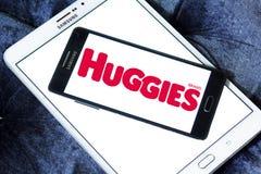 Huggies diapers manufacturer logo Stock Images