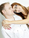 Hugging Couple Royalty Free Stock Photography