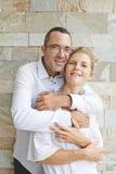 Hugging couple Stock Photos