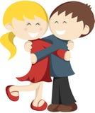 Hugging Kids Stock Photos