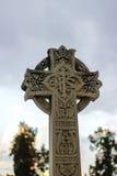 Huggit kors för sten klosterbroder Royaltyfria Bilder