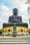 Hugh Buddha staty i landskap för Buddha för åtta Trigramberg Royaltyfri Fotografi