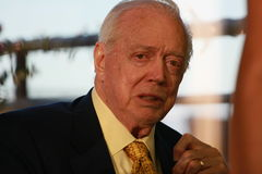 Hugh downs Obraz Stock