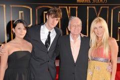 Hugh Hefner Imagens de Stock Royalty Free