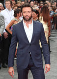 Hugh Jackman. Arriving for 'The Wolverine' premiere, Empire Leicester Square, London. 16/07/2013 Picture by: Alexandra Glen / Featureflash Royalty Free Stock Photography