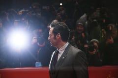 Hugh Jackman assiste al ` di Logan del ` Immagini Stock Libere da Diritti