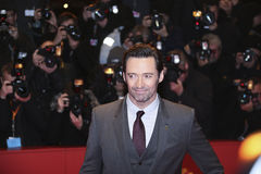 Hugh Jackman assiste au ` de Logan de ` Images stock