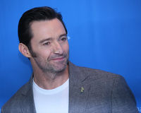 Hugh Jackman attends the `Logan` Stock Image