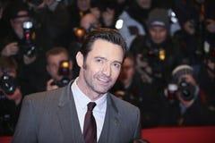 Hugh Jackman attends the `Logan` Stock Photo