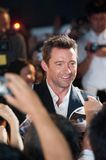 Hugh Jackman. August 28, 2013 : Tokyo, Japan – Hugh Jackman appears at the Japan Premiere for The Wolverine by James Mangold in the Roppongi Hills, Tokyo stock images