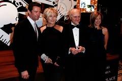 Hugh Jackman Deborra-lä Furness, Nicholas Scoppetta Royaltyfria Bilder