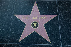 Hugh Jackman Hollywood Star Stock Photos