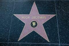 Hugh Jackman Hollywood Star Stock Photos