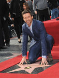 Hugh Jackman. Is honored with the 2,487th star on the Hollywood Walk of Fame. December 13, 2012  Los Angeles, CA Picture: Paul Smith / Featureflash Stock Image
