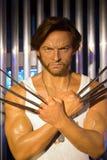Hugh Jackman in Madame Tussauds von London lizenzfreie stockbilder