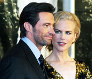 Hugh Jackman and Nicole Kidman Royalty Free Stock Photos
