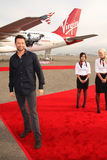 Hugh Jackman oskulderna royaltyfria foton