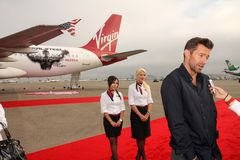 Hugh Jackman, virgens foto de stock