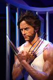 Hugh Jackman. Wax statue at madame tussauds museum at hong kong. he was the marxist and political leader Stock Photo