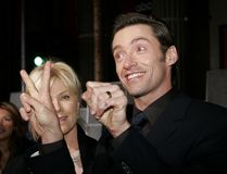 Hugh Jackman. At the World Premiere of `The Prestige` held at the El Capitan Theater in Hollywood, USA on October 17, 2006 Stock Image