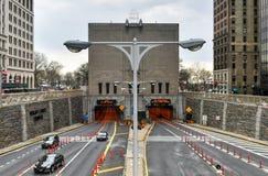 Hugh L Carey, Brooklyn baterii tunel/ Fotografia Stock