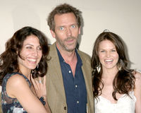 Hugh Laurie,Jennifer Morrison,Lisa Edelstein Royalty Free Stock Images