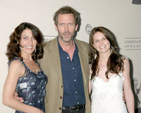 Hugh Laurie,Jennifer Morrison,Lisa Edelstein Stock Images