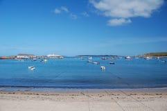 Hugh Town Bay Stock Photos