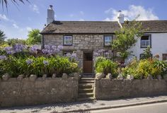 Hugh Town, St Mary's, Isles of Scilly, England Stock Photography