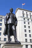 Hugh Trenchard Statue in London Stock Image