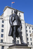 Hugh Trenchard Statue in London Royalty Free Stock Photography
