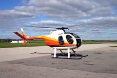 Hughes 369 helikopter Stock Afbeelding