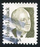 Hugo Black Royalty-vrije Stock Foto's