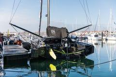 Hugo Boss-boot bij het Vendee-Bolponton Royalty-vrije Stock Afbeelding