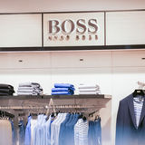 hugo boss clothing stock image. Black Bedroom Furniture Sets. Home Design Ideas