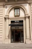 Hugo Boss Przechuje Obraz Stock