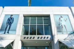 Hugo Boss Retail Store Exterior Lizenzfreie Stockfotos