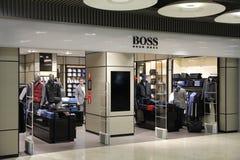 Hugo Boss Store foto de stock