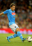 Hugo Campagnaro of SSC Napoli Stock Photo
