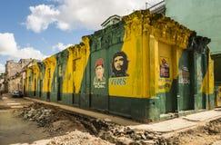 Hugo Chavez i Che Guevara Hawańscy obraz royalty free