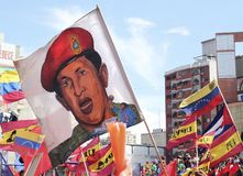 Hugo Chavez image Stock Image