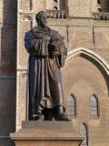 Hugo de Groot in Delft in the Netherlands Royalty Free Stock Images